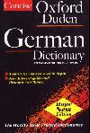 The Concise Oxford-Duden German Dictionary: English-German, German-English